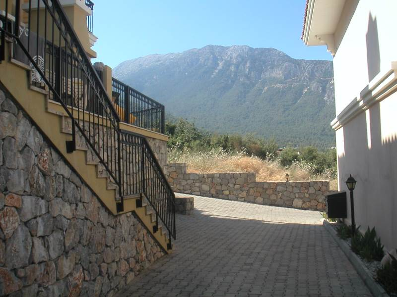 A0111 Beautiful 2 bedroom apartment with stunning mountain views in Ovacik