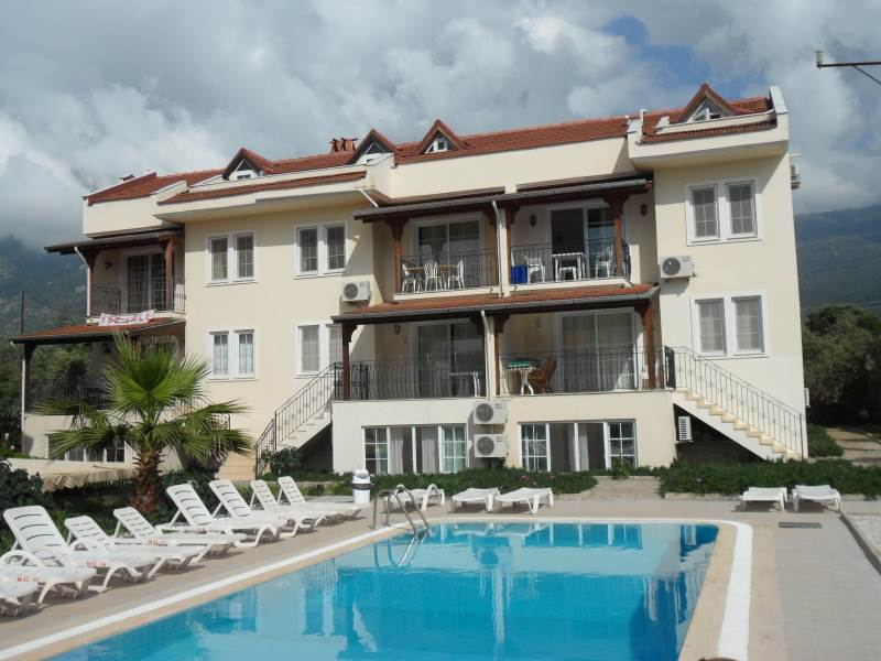 A0117 Fabulous 2 bedroom apartment in the centre of Hisaronu